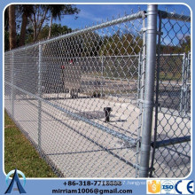 2015 hot sale galvanized used chain link fence panels