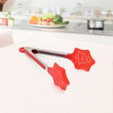 Pince à nourriture en nylon pour arbre de Noël rouge