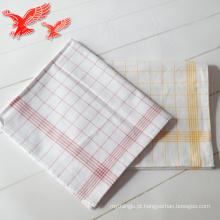 Fabricantes que vendem mantas bordadas atacado Microfibra toalhas de chá personalizadas