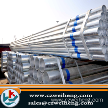 En39 ERW Hot Dipped Galvanized Steel