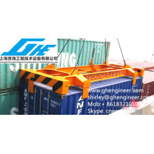 20-футовый полуавтоматический разбрасыватель контейнеров