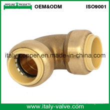 OEM & ODM Qualité Brass Forged Push Fit Elbow (IC-1018)