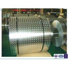 Aluminum Tread Plate Coil Five Bar (A1050 1060 1100 3003 3105 5052)