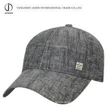 Boné relativo à promoção do chapéu do esporte do boné de beisebol do tampão do algodão do lazer do tampão do algodão da forma