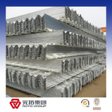 Galvanized traffic guard rail for highway galvanized guardrail crash barrier for safety for sale