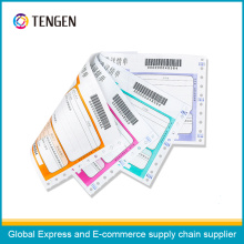 Express Custom Printing Carbonless Bill with Barcode