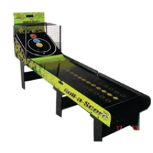 Foldable Electronic Scorer Skeeball Table