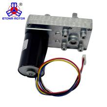 motor de caja de cambios de baja velocidad 6rpm alto par para válvula eléctrica