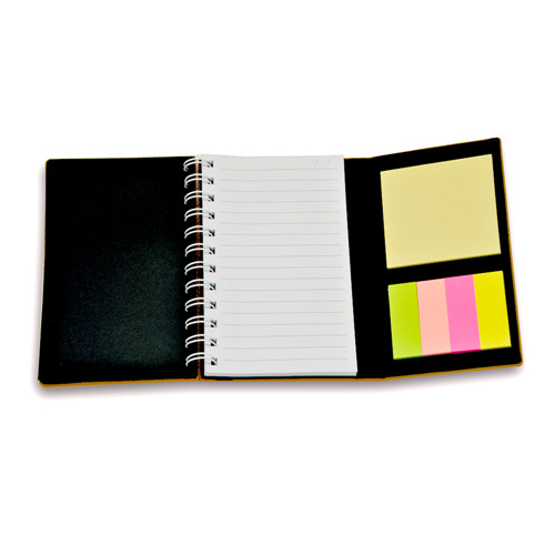 Calculator with Notebook and Notepad