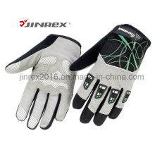 Bicicleta de Padding Full Finger bicicleta de relleno con Buckle Sports Glove
