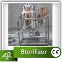 Esterilizador de Chá e Sucos / Pasteurizador de Leite Fresco / Esterilizador Instantâneo