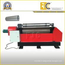 Machine à rouler planche à ordures en acier hydraulique en acier