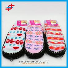 Colorful Adult Hand Crochet Cute Indoor Slipper Sock