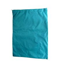 Custom hotel oversize durable folding heavy duty dirty nylon drawstring bag