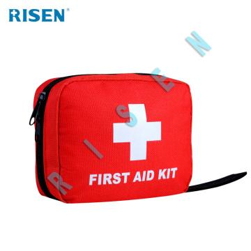 Erste-Hilfe-Kasten mit medizinischer Versorgung für die Reise
