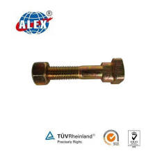 Square Head Track Bolt with Nut and Washer
