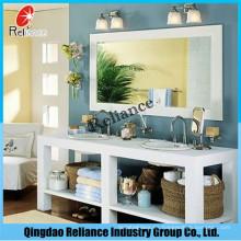 4mm / 5mm / 6mm espejo de plata / espejo de baño / doble espejo revestido / espejo de pintura verde