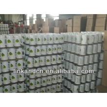 Haonai hot sales 23oz white custom logo ceramic stein beer mug
