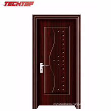Tpw-090 High Quality Interior Safe Lowest Wooden PVC Door