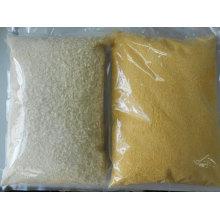 Migalhas de pão branco e amarelo Panko japonês
