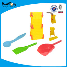 Sand beach set,beach castle and shovel toy
