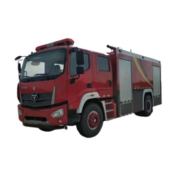 Emergency Foam Tank Fire Rescue Truck for sale