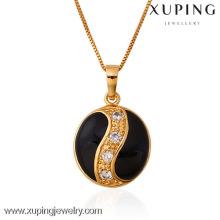 31258 Xuping nuevo colgante de joyería en color oro 18k con circonita