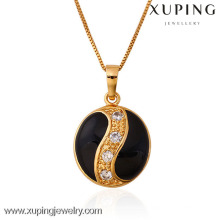 31258 Xuping new 18k gold plated color jewelry pendant with zircon