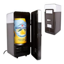 New Arrival Portable Mini USB Fridge Cooler Gadget, Cooler Cans Refrigerator