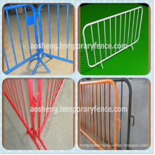 Hot-DIP Galvanized Crowd Control Barrier/Pedestrian Safety Barrier/Temporary Fence Barrier