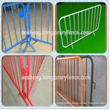 Hot-DIP Galvanized Crowd Control Barrier/Pedestrian Safety Barrier/Temporary Fence Barrier