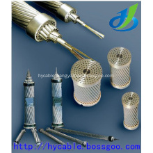 ACSR Aluminum Conductor Steel Reinforced , Aluminum Wire