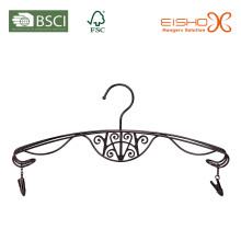 Элегантная металлическая вешалка для белья с отделкой олова