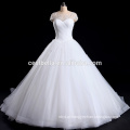 Vestido de noiva Alibaba com decote querido e Vestido de noiva Vestido de noiva