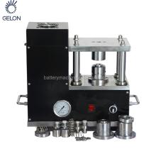 Laboratory Desktop Coin Cell Crimping Machine Li Battery Electrode Punching Machine