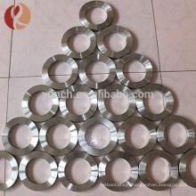 2016 dongguan custom 5mm titanium blank ring for inlay JZ1200