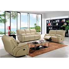Living Room Sofa with Modern Genuine Leather Sofa Set (932)