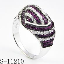 Anillo de joyería de plata de ley 925 para mujer (S-11210)