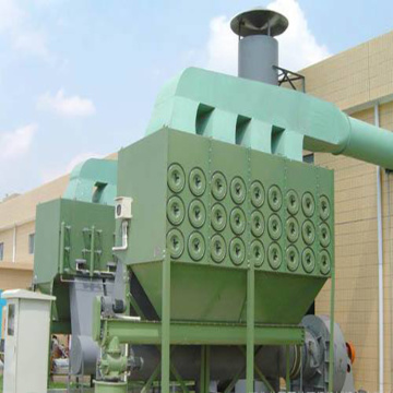 Horizontal installation filter dust collector