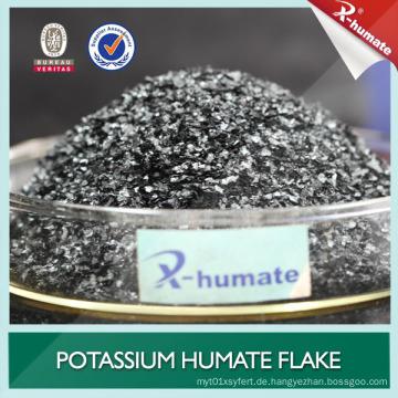 98% lösliches Kalium Humate Granular / Flake / Pulver