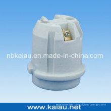 Porcelain Lamp Holder (E27F536)