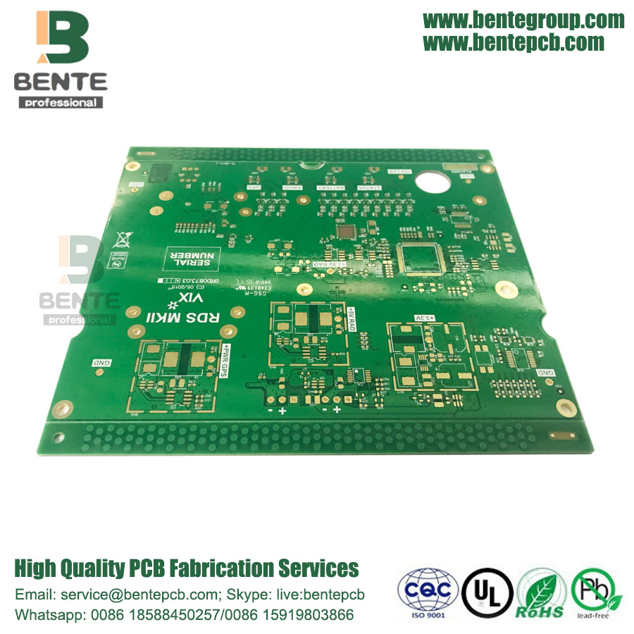 Hochpräzise Multilayer PCB 1.2mm