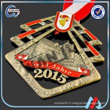Médaille d'or antique de l'année 1960