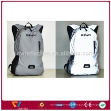 2017 высокой моды полный 100%3M отражательный рюкзак флуоресцентные светоотражающие рюкзак дорожная Сумка