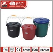 plastic bucket w/lid 3L/4.5L/5.5L