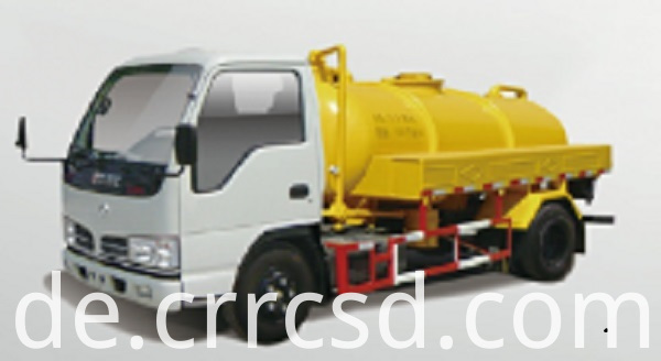 Sewage Suction Truck Vacuum Car