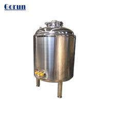 Tanque de armazenamento de água líquida sanitária de grande capacidade