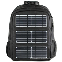 New 2016 fashion TY006 45L waterproof nylon 8W Solar panels charger backpack men outdoor sports women hiking bags