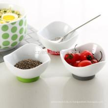 окуная тарелки с силиконовым основанием, набор из 3