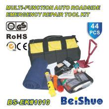 44PCS kit de ferramentas de segurança na estrada para carro